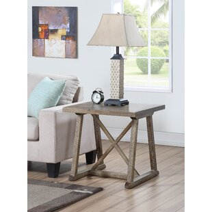 Caley Cross End Table by Ophelia & Co.