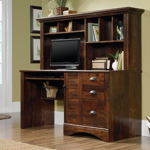Stalter Computer Desk with Hutch by Beachcrest Home