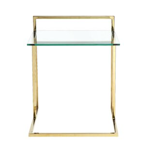 Read Reviews Cavallo End Table by Orren Ellis