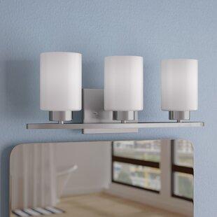 Best Deals Annabell 3-Light Vanity Light By Zipcode Design
