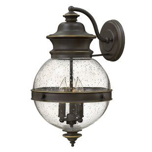 Charlton Home Pumphrey 3-Light Outdoor Sconce
