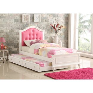 Sargent Twin Platform Bed with Trundle by Harriet Bee