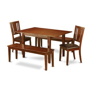 Picasso 5 Piece Extendable Dining Set by Wooden Importers 2019 Coupon