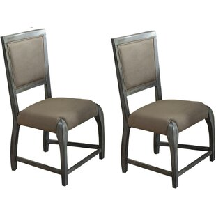 Vincenza Upholstered Dining Chair (Set of 2) by Gracie Oaks