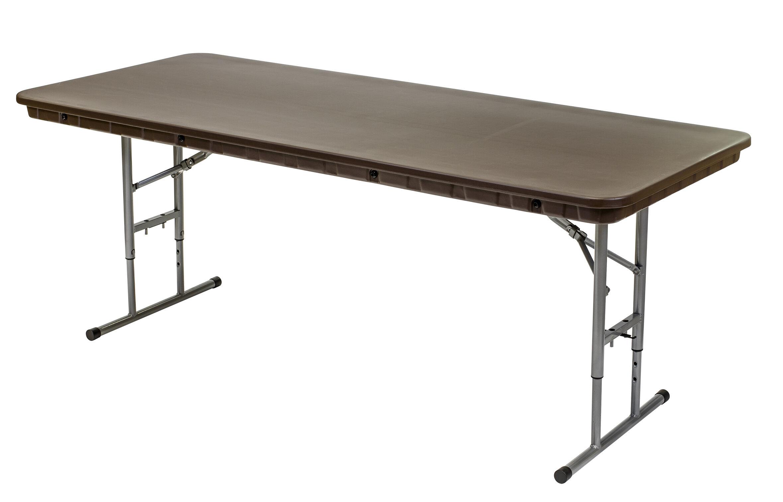 Symple Stuff Vinson Resin Adjule 72 Rectangular Folding Table Wayfair