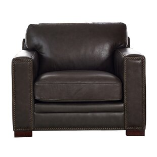 Neil Leather Club Chair By Trent Austin Design
