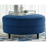 Oversized Cocktail Ottoman by Ebern Designs