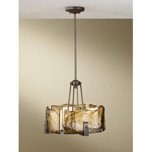 Crane 4-Light Drum Chandelier by Orren Ellis