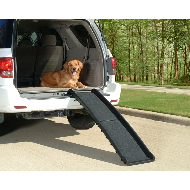 Gen7Pets Feather Lite Pet Ramp for Dogs and Cats Folds Flat Lightweight and