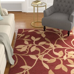 Buy clear Gaskins Red Area Rug By Charlton Home