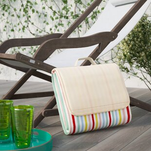 Pastel Color Stripes Outdoor Picnic Blanket