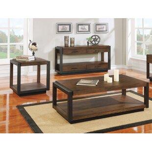 Williston Forge Brack 3 Piece Coffee Table Set