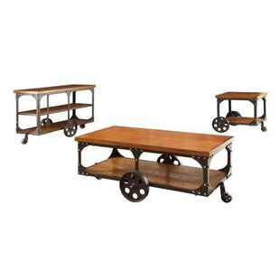 Luellen 3 Piece Coffee Table Set