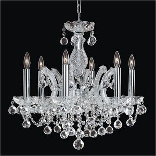 Glow Lighting Maria Theresa 6-Light Candl..