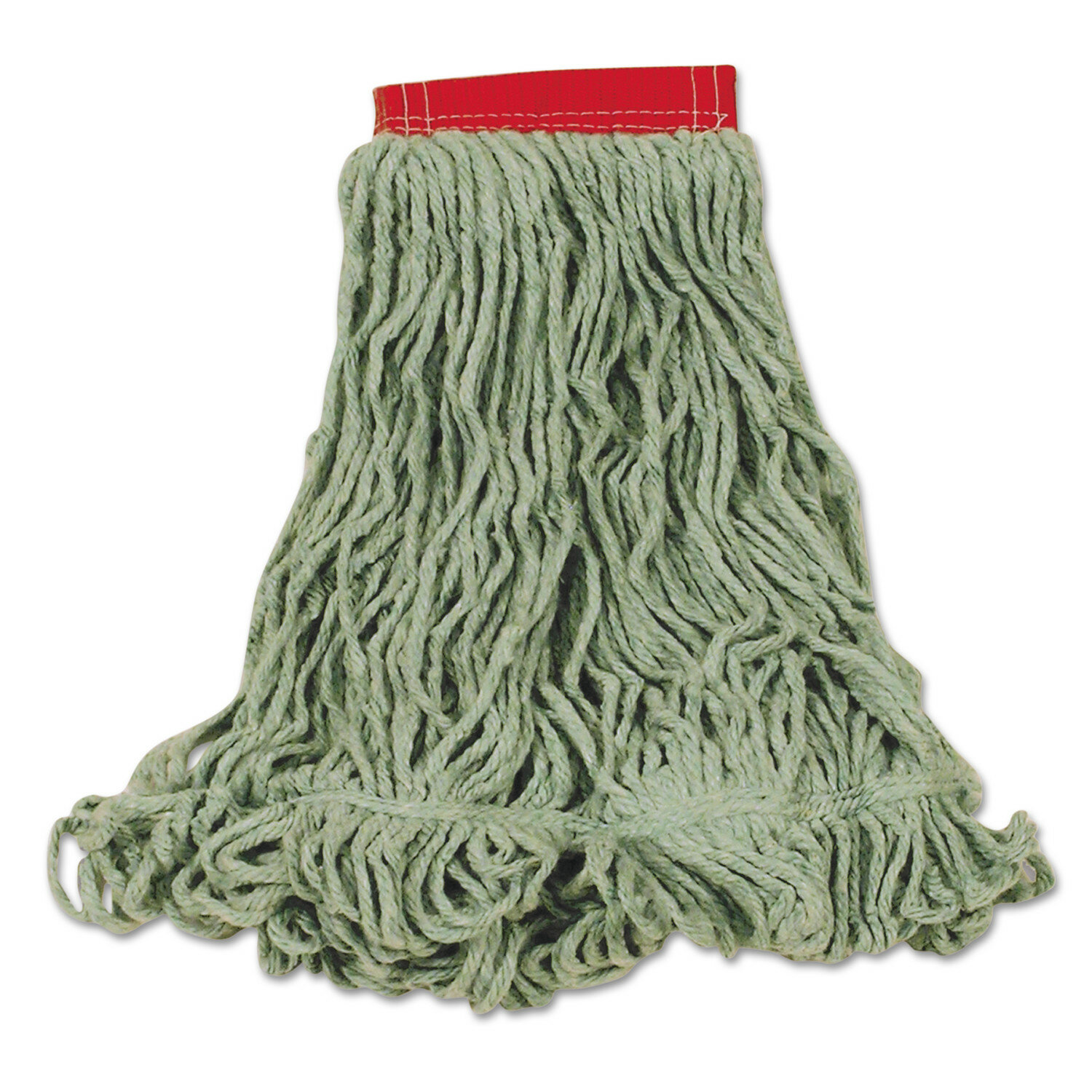 Rubbermaid Commercial Products Large Super Stitch Blend Cotton Synthetic Mop Heads In Green Wayfair