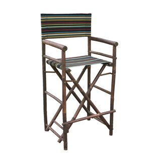 High Director Patio Dining Chair (Set Of 2) by ZEW Inc