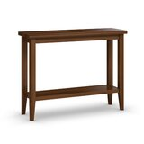 Gratton Solid Wood Console Table by Red Barrel Studio®