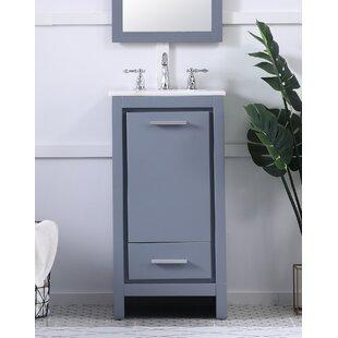 Zipcode Design Arvilla 18 Single Bathroom Vanity Set Wayfair
