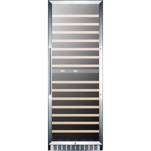 160 Bottle Dual Zone Convertible Wine Cellar by Summit Appliance