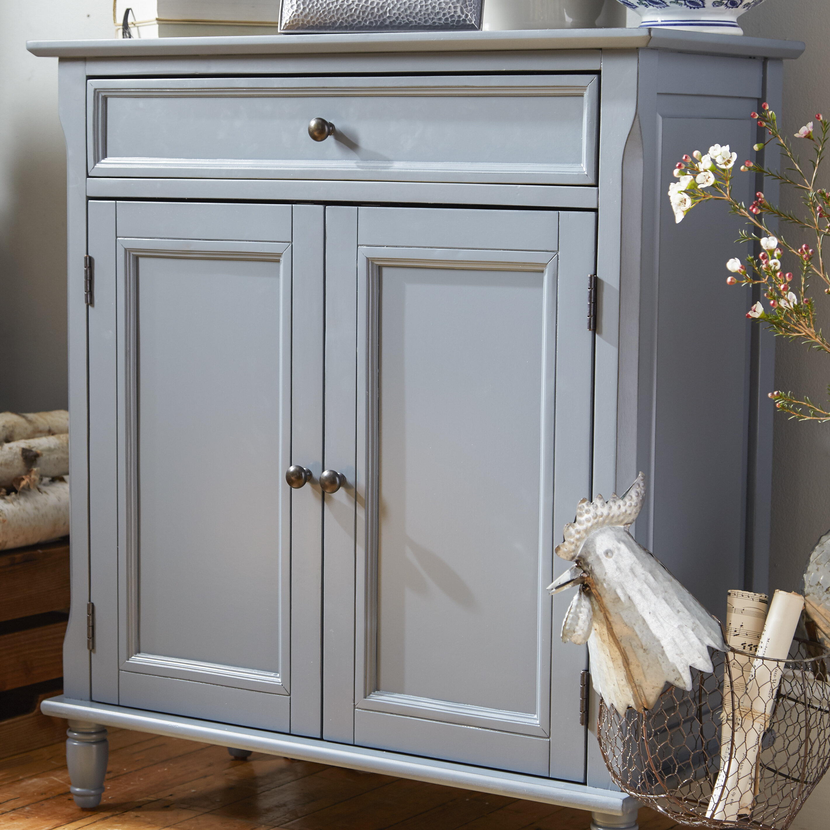 Darby Home Co Durgan Accent Cabinet & Reviews   Wayfair
