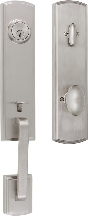 Delaney Hardware Handleset With Single Cylinder Deadbolt And Door Knob And Rosette Reviews Wayfair Ca