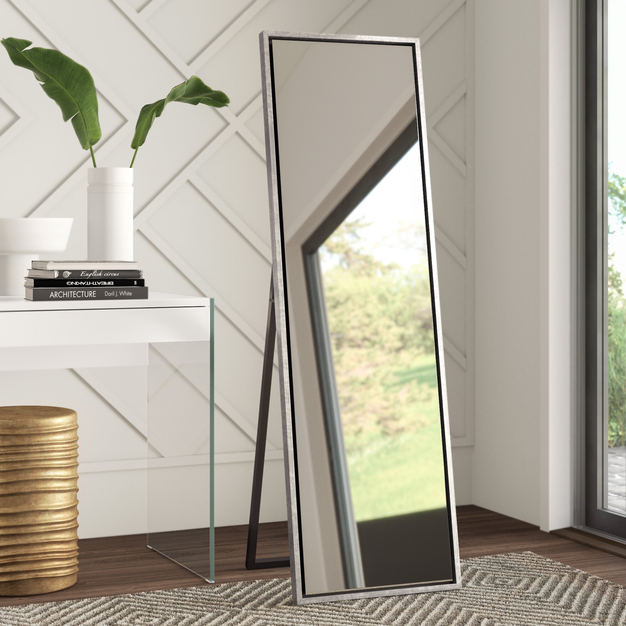 Silver Full Length Mirrors You Ll Love In 2021 Wayfair