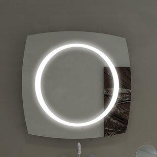 Paris Mirror Halo Illuminated Bathroom/Vanity Wall Mirror