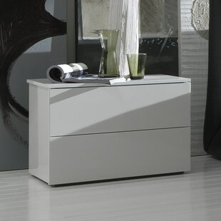 Rossetto USA Coco 2 Drawer Nightstand