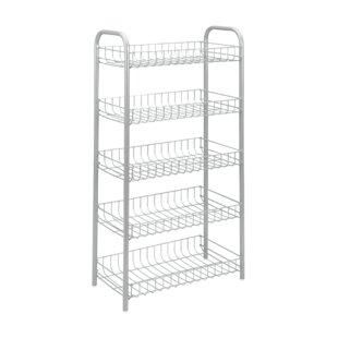 Monaco 5 Tier Storage Rack by Metaltex