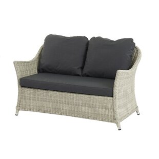 Ridgewood 2 Seater Garden Loveseat With Cushion By Sol 72 Outdoor