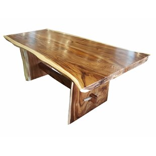 Efren Live Edge Unique Slab Dining Table by Millwood Pines #2