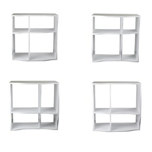 Check Prices Faircloth Cube Unit Bookcase (Set of 3) By Ebern Designs