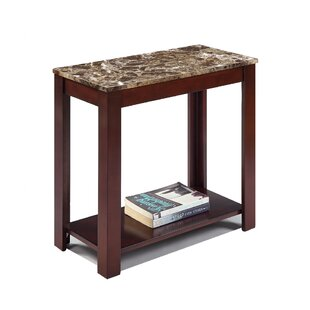 Croy End Table with Storage by Fleur De Lis Living