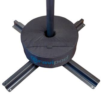 Gravipod 14 Square Umbrella Base Weight Up to 65 lbs