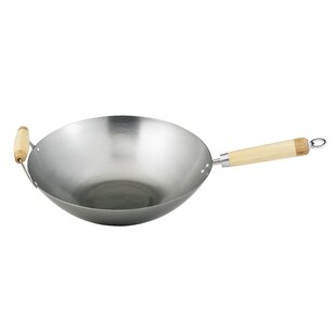 Helen's Asian Kitchen 14 Carbon Steel Wok By HAROLD IMPORT COMPANY