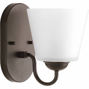 Westhoughton 1-Light Bath Sconce by Charlton Home
