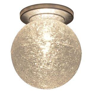 Bruck Lighting Dazzle 1-Light Flush Mount