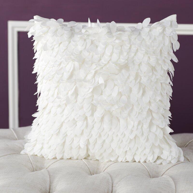 Willa Arlo Interiors Tonnele Ruffle Throw Pillow Reviews Wayfair Delectable Charlotte Ruffled Throw Blanket