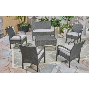Order Jensen 6 Piece Sofa Seating Group with Cushions Compare prices