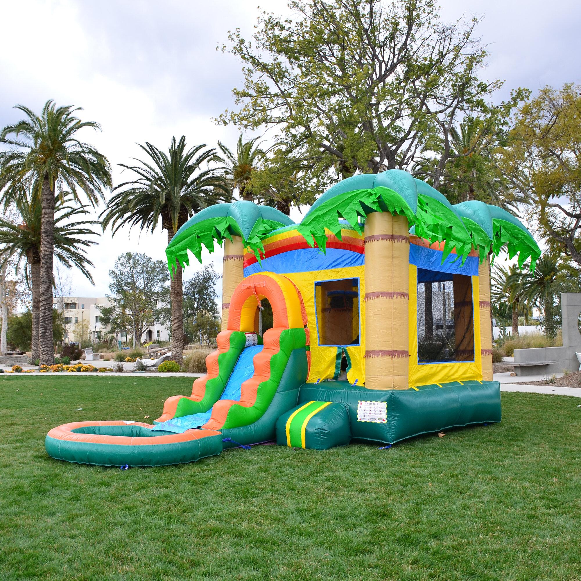 Herokiddo 12 X 24 Bounce House Water Slide And Air Blower Reviews