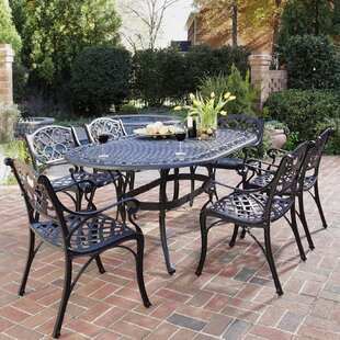 Astoria Grand Van Glider 7 Piece Dining Set
