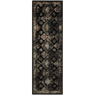 Reviews Chauntel Black Area Rug By Bungalow Rose