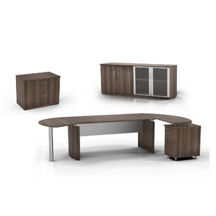 Medina 6-Piece Standard Desk Office Suite by Mayline Group