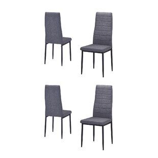Nuttall Upholstered Dining Chair (Set of 4)