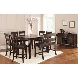 Wynwood 8 Piece Dining Set by Alcott Hill