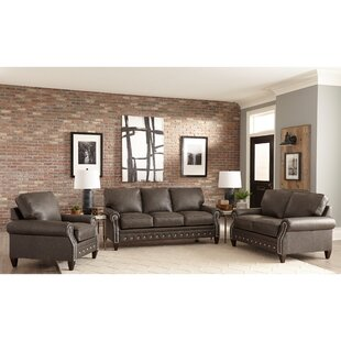 Find a Jacey 3 Piece Leather Sleeper Living Room Set by 17 Stories Reviews (2019) & Buyer's Guide