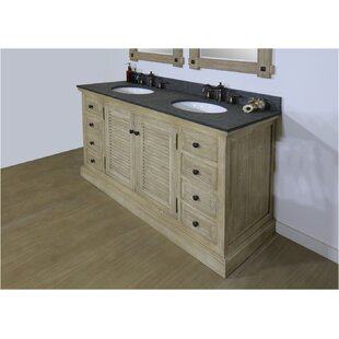 Ziegler 61 Double Bathroom Vanity Set by Bloomsbury Market