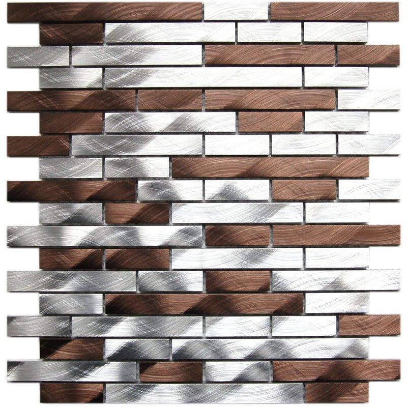 Eden Mosaic Tile Aluminum