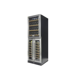 121 Bottle Professional Tri Zone Wine Cellar