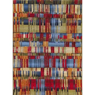 Coronel Paintbox Red/Blue Indoor/Outdoor Area Rug